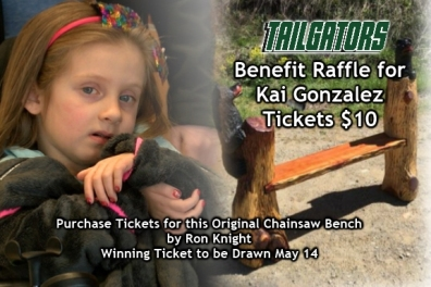 benefit raffle for kai gonzlez at tailgators sports grill
