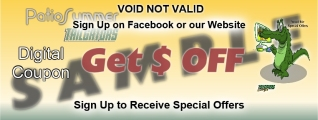 special offer sample for tailgators sports grill