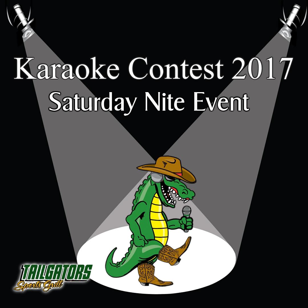 tailgators karaoke contest 2017